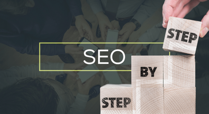 what should be the first step of a structured SEO plan.